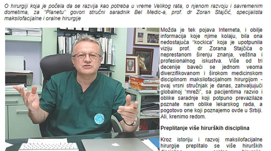 intervju profesor zoran stajcic