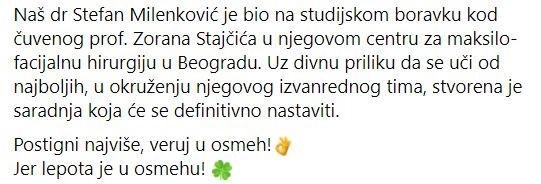 utisci pacijenata beograd centar dr Stefan Milenković